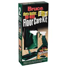 bruce cleaner and mop floor care kit