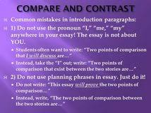 how to write a compare essay introduction essay club custom how to write a compare contrast essay