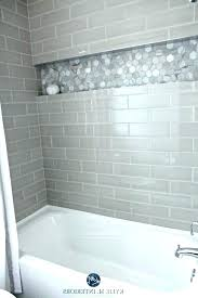 bathroom surround bathroom surround subway tile bathtub photo 6 of bathroom with bathtub and gray subway