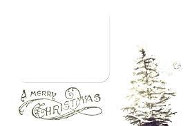 Free Christmas Tree Template Christmas Card Tree Template Index Card Template Word Greeting Blank