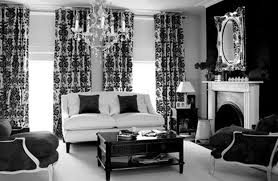Monochrome Living Room Decorating Black White And Silver Living Room Ideas