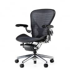 miller office chair. Herman Miller Aeron Executive Chair (Classic) - Tuxedo Blue / Black Precision Office 0