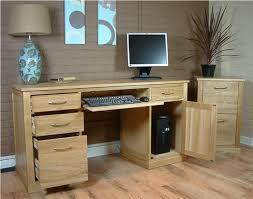 oak desks for home office. Stunning Home Office Warm Solid Oak. Gallery Of Oak Computer Desk H57F On Desks For I