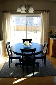 rug size for dining table dining room rug size dining room superb table on rug area