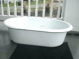 vintage baby bathtub acrylic antique porcelain vintage baby bathtub