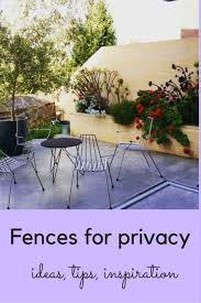 fences for privacy and screening
