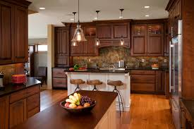 kitchen design cabinets traditional light: kitchenlarge traditional kitchen design with light oak wood floor simple brown traditional kitchen with
