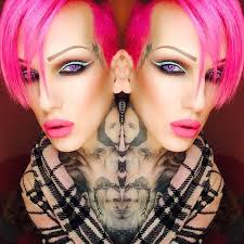since he does his make up so well jeffree as decided to e out with a cosmetic line i am especially excited since i enjoy doing my and others make up