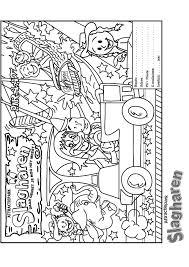 Pretpark Kleurplaten Animaatjesnl