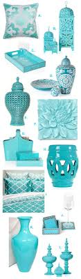 Turquoise Home Decor Accents Aquamarine Turquoise Interior Design Home Decorating Products 37