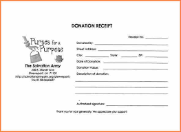 donation receipt forms 10 salvation army donation receipt form return receipt form