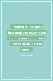 36 Mother Son Quotes Mom And Son Relationship Sayings