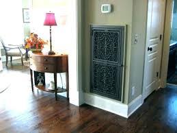 decorative air return vent cover cold ac floor vents covers hvac