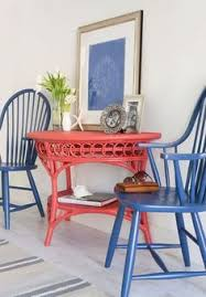 using wicker furniture indoors the country chic cote