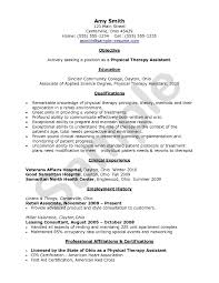 Physiotherapist Resume Sample Physical Therapy Resume Updated Physical Therapy Resume Samples For 2