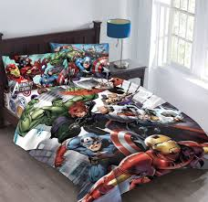 avengers bed sheets full size
