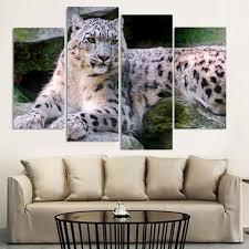 Leopard Print Living Room Decor High Quality Leopard Print Wall Art Buy Cheap Leopard Print Wall