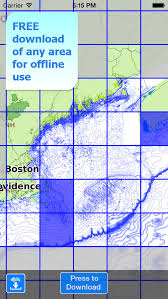 Nautical Charts New England Coast Aqua Map New England Coast From Maine To Connecticut