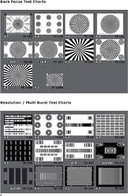 Back Focus Test Chart Colour Test Charts 4 3 Set Of 6 Charts Pdf Free Download