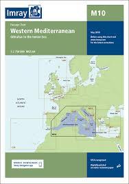 M10 Western Mediterranean Imray Chart