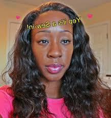 Sew In Hair Style hair sew in hairstyle sew in for short hair diytutorial 1205 by wearticles.com