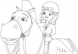 Small Picture Sofia The First Printable Coloring Pages Coloring Pages Ideas
