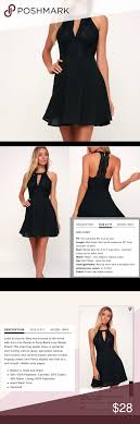 Lulus Size Chart Lulus Black Skater Dress New With Tags This Stunning Black