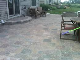 ... Interesting Outdoor Flooring Design Using Paver Patio Step :  Interesting Outdoor Flooring Decoration Using Paver Patio ...