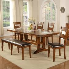 winners only mango 6 piece dining table and chair set item number dmg4492