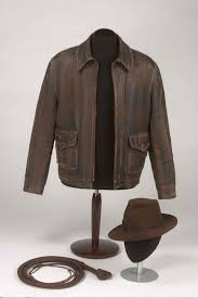 indiana jones famous jacket hat and whip on show for the first time in wales wales