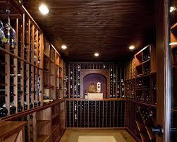 wine room lighting. Wine Room With Rich Wood Custom Shelving And Recessed Lighting