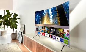 samsung curved tv in living room. samsung ue55ks7500 review - 4k, hdr and curves, this tv has it all | expert reviews curved tv in living room