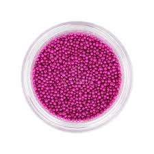 X Nails Kaviár Na Zdobení Nehtů Miniperličky Tmavě Růžové