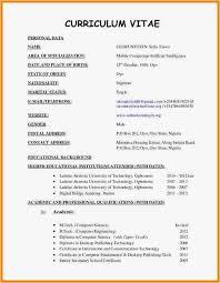 Cv Resume Builder Free Download Professional Curriculum Vitae