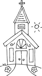 Small Picture Black And White Coloring Pages For Church Coloring Coloring Pages