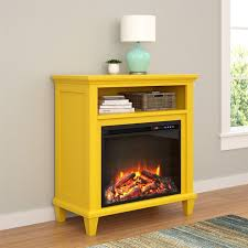 altra ameriwood home ellington electric fireplace accent table 32 inch tv stand