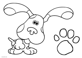 Small Picture Free Printable Blues Clues Coloring Pages For Kids Cool2bKids