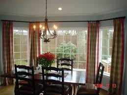 Window Treatments For Large Windows In Living Room Living Room Windows With Triple Bay Window Design Transparent