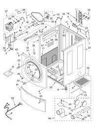 kenmore he2 dryer. kenmore elite residential dryer parts | model 11085861400 sears partsdirect kenmore he2 dryer