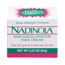 nadinola skin discoloration fade cream extra strength oz nadinola skin discoloration fade cream extra strength 2 25 oz com