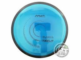 Details About New Mvp Disc Sports Plasma Tesla 155g Blue Distance Driver Golf Disc
