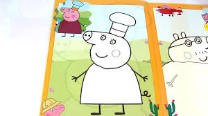 Small Picture Peppa Pig Mummy Pig Cook Kids Fun Art Activities Coloring Book