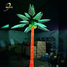 lighted palm tree china manufacturer wedding decoration artificial outdoor led lighted coconut palm tree lighted palm