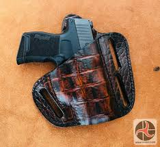 leather pancake style holster sig p365 holster55
