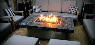 gas fire pit table style round propane lp p