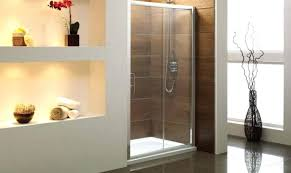 showerssliding glass shower door enclosures for the contemporary bathroom wont stay closed