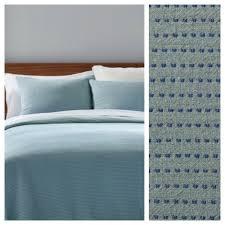 full queen modern green dot woven duvet cover 3 piece project 62 nate berkus 490601723796