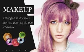 Makeup Couleur Yeux Et Cheveux Applications Android Sur Google Play
