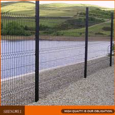 black welded wire fence. Black Galvanized Welded Wire Fence Mesh Panel :