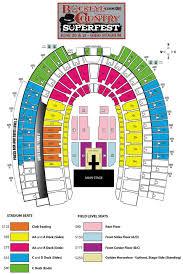 29 Genuine Buckeye Country Fest Seating Chart